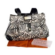 CoCaLo Couture Kayla Zebra Dot Satchel Diaper Bag