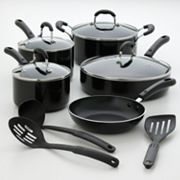 Kitchen a la carte 12-pc. Nonstick Cookware Set
