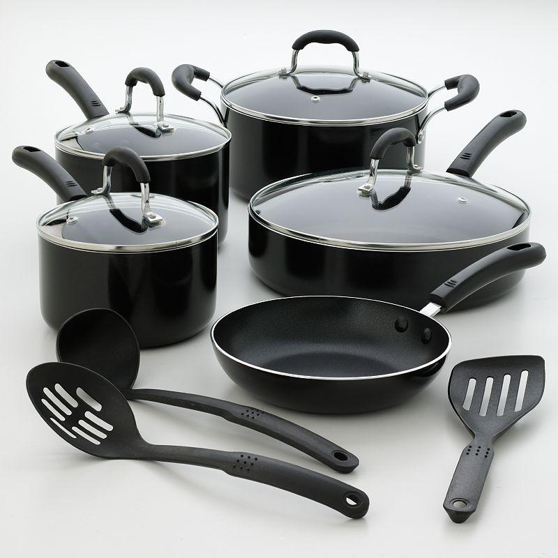 Kitchen la carte 12-pc. Nonstick Cookware Set