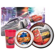 Disney/Pixar Cars 4-pc. Mealtime Set By Zak Designs