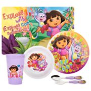 Dora the Explorer 6-pc. Mealtime Set By Zak Designs