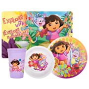 Dora the Explorer 4-pc. Mealtime Set By Zak Designs