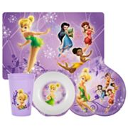 Disney Fairies 4-pc. Mealtime Set By Zak Designs