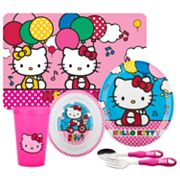 Hello Kitty 6-pc. Mealtime Set By Zak Designs