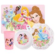 Disney Princess 4-pc. Mealtime Set By Zak Designs