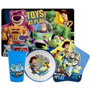 Disney/Pixar Toy Story 3 4-pc. Mealtime Set By Zak Designs