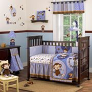CoCaLo Baby Monkey Mania 8-pc. Crib Bedding Set