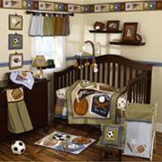 CoCaLo Baby Sports Fan 8-pc. Crib Bedding Set