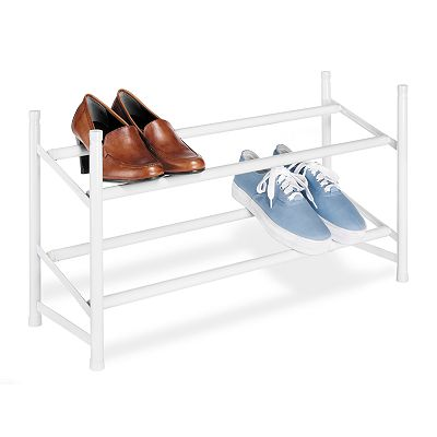 Whitmor 2-Tier Expandable Shoe Rack
