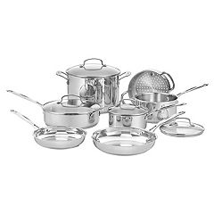 Cuisinart Chef's Classic 11 pc Stainless Steel Cookware Set