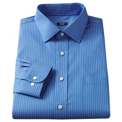Croft and Barrow Spread-Collar No-Iron Dress Shirt - Big and Tall