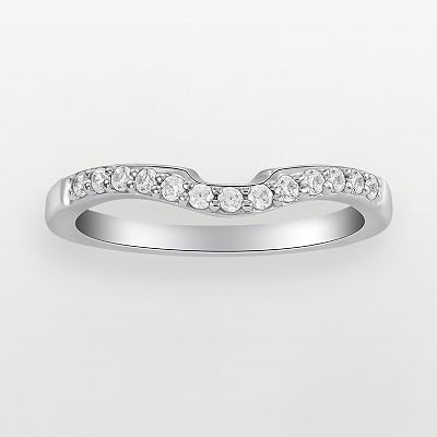 Endless Diamond 14k White Gold 1/5-ct. T.W. Round Cut Diamond Ring