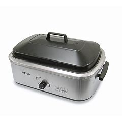 Nesco 4818-25-20 18-qt. Stainless Steel Roaster Oven