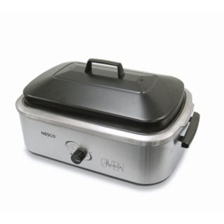 Nesco 4818-25-20 18-qt. Stainless Steel Roaster Oven