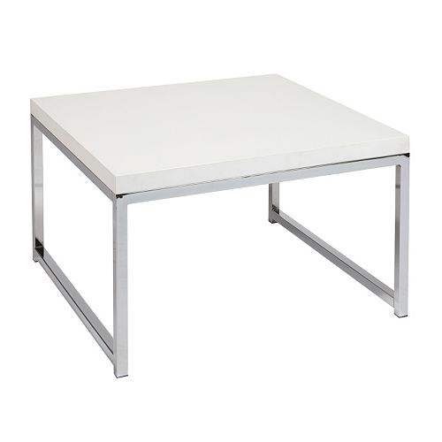 OSP Home Furnishings Avenue Six Wall Street Accent Table