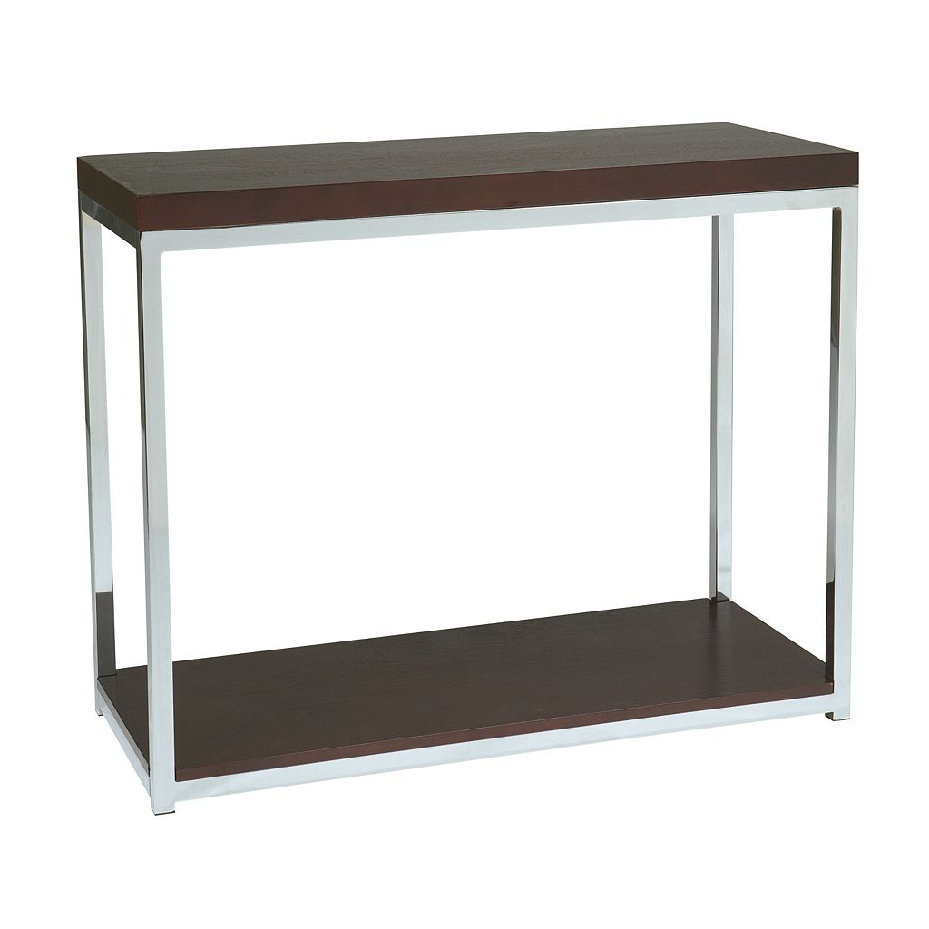 Office Star Products Avenue Six Wall Street Foyer Table