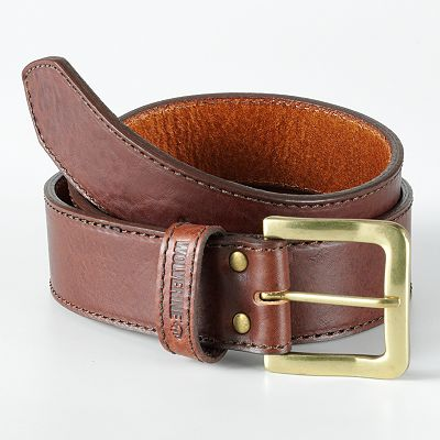 Wolverine Contoured Leather Belt