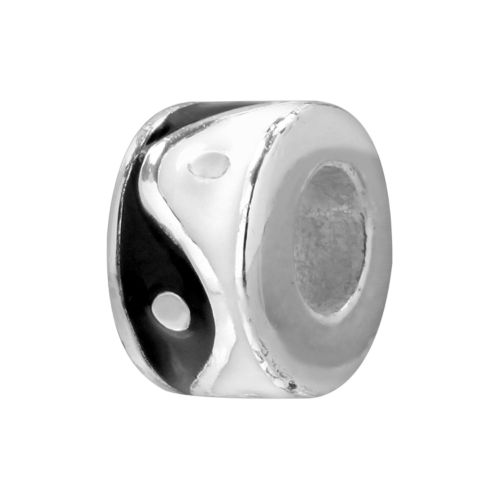 Individuality Beads Sterling Silver Yin-Yang Bead