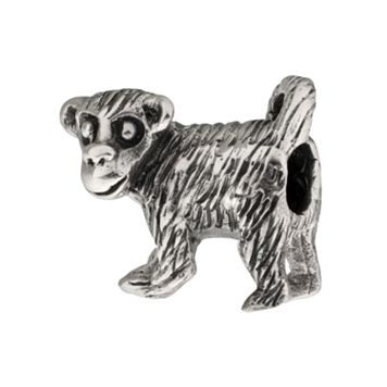 Individuality Beads Sterling Silver Monkey Bead