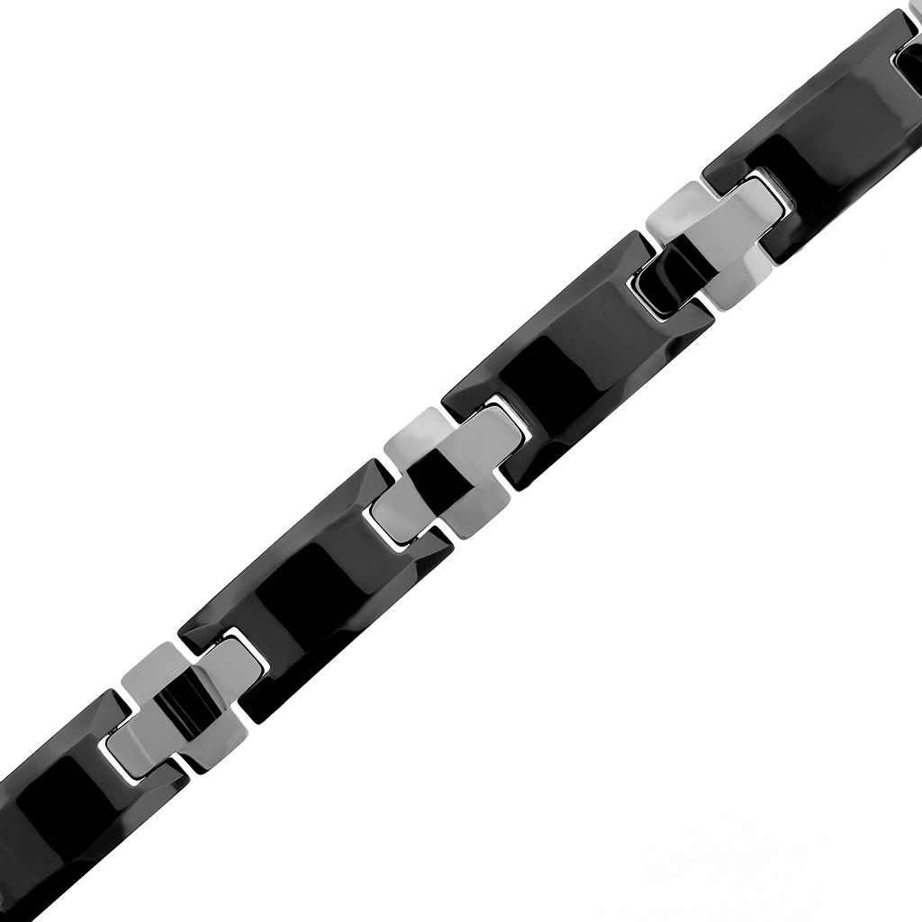 LYNX Ceramic Cross Bracelet - Men