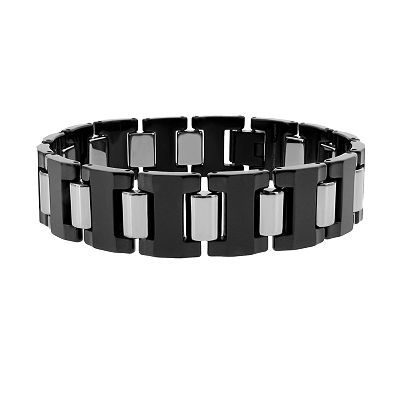 Tungsten Black Ion Bracelet - Men
