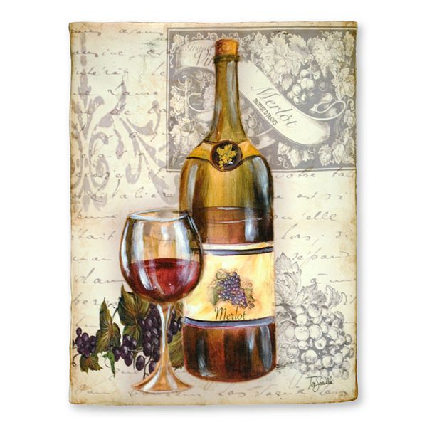 Red Wine Wall Decor : Kohls new view gifts accessories wine bottle wall