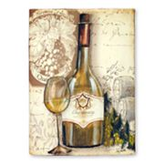 White Wine Wall Decor