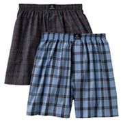 Jockey 2-pk. Plaid Boxers - Boys 2-20