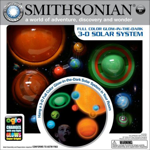 Smithsonian 3D Glow-in-the-Dark Solar System