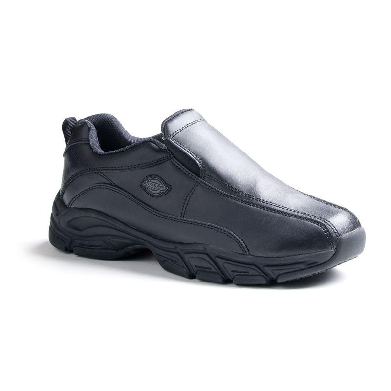 Dickies Women's Slip-On Athletic Work Shoes, Size: medium (6), Black