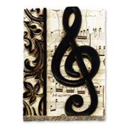 Treble Clef Wall Decor
