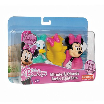 Disney Mickey Mouse and Friends Minnie Mouse Bath Squirters Set by Fisher-Price
