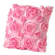 Jumping Beans Fancy Feet Rosette Decorative Pillow