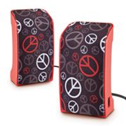 Merkury Innovations Peace Sign USB Speakers