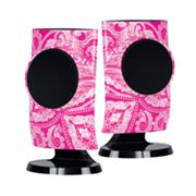 Merkury Innovations Paisley USB Speakers