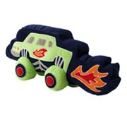Jumping Beans Monster Truck Decorative Pillow