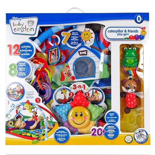 Baby Einstein Caterpillar /& Friends Baby Play Gym