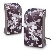 Merkury Innovations Camouflage USB Speakers