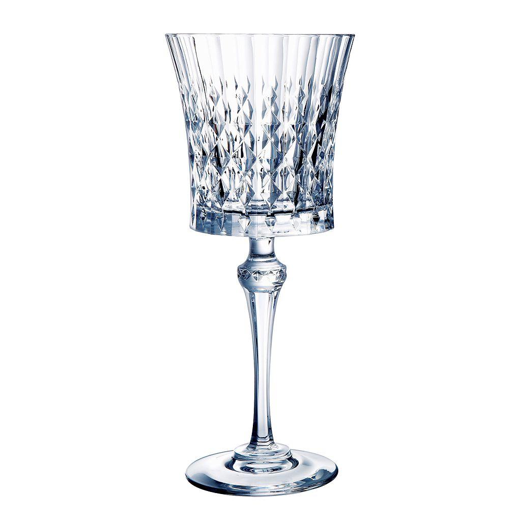 Cristal d'Arques Lady Diamond 6-pc. Goblet Set