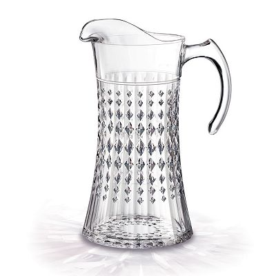 Cristal d'Arques Lady Diamond Pitcher