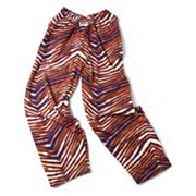 Zubaz Athletic Pants - Navy Blue and Orange