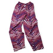 Zubaz Athletic Pants - Blue and Red
