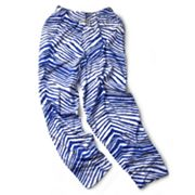 Zubaz Athletic Pants - Royal Blue and White