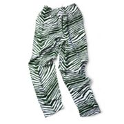 Zubaz Athletic Pants - Green and White