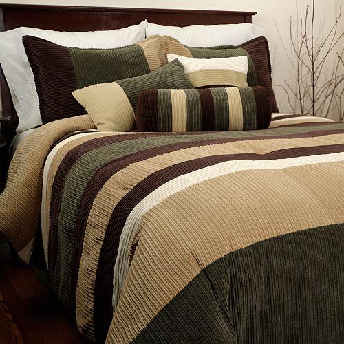 Hudson Street Geo 6-pc. Comforter Set - Twin