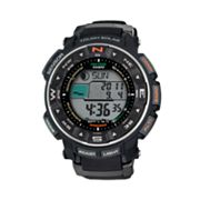 Casio Protrek Tough Solar Triple Sensor Atomic Digital Chronograph Watch - PRW2500-1 - Men