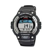 Casio Tough Solar Black Resin Digital Chronograph Watch - WS220-1AV - Men