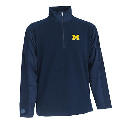 Michigan Wolverines Frost 1/4-Zip Fleece Pullover Jacket