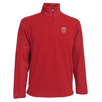 Indiana Hoosiers Frost 1/4-Zip Fleece Pullover Jacket