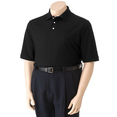 Croft and Barrow Solid Polo - Big and Tall